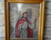 Vintage Religious Jesus Picture