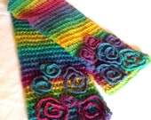 Colmena Crocheted Scarf pattern