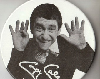 1965 SOUPY SALES LITHOGRAPH Pinback Metal Button - Authentic
