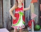 Watermelon Fruity Jumper Dress