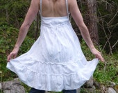 white princess faerie pixie witch festival fun snowflake summer dress