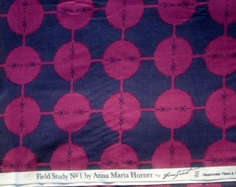 Anna Maria Horner Field Study Coordinates midnight Free Spirit fabric FQ or more