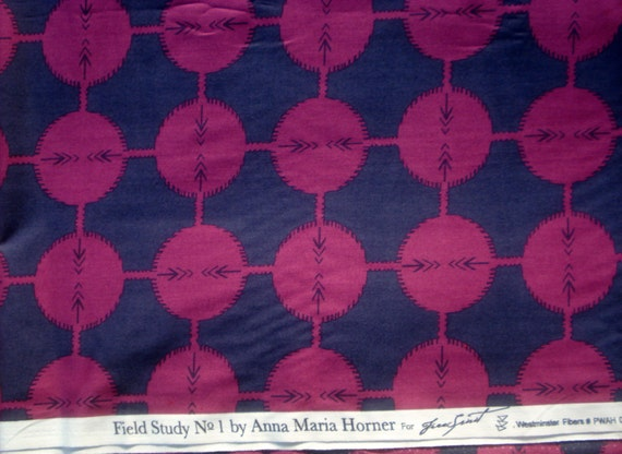 Anna Maria Horner Field Study Coordinates midnight Free Spirit fabric FQ or more