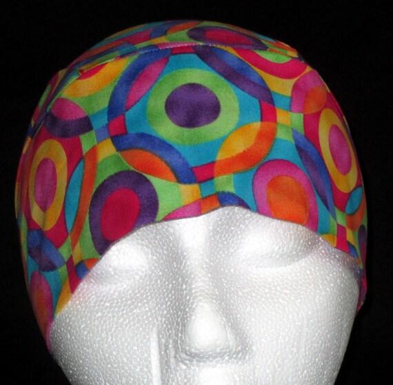 Bright colored skull tattoos