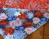 Table Runner - House Warming Gift - Handmade Gift - 4th of July - Independence Day - Patriotic  * Second Anniversary Gift * Gift for Grandma