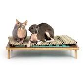 Float Platform Bed // Mid Century Modern Pet Furniture // Dog & Cat Bed
