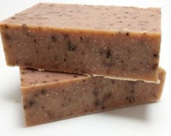 Pumpkin and Coffee Beer Soap - Vegan - Handmade Soap