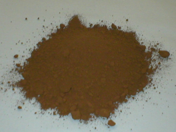 Cement Pigment Powder : Umber brown powder color or dye for concrete by oldeworldmolds