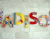 Sesame Street Wall Letters for ANGEL