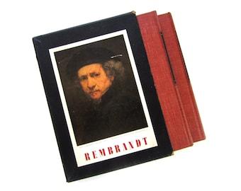 Rembrandt by Jakob Rosenberg. 2 Vol Slipcase Cambridge Harvard University Press 1948