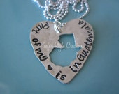 Guatemala Hand Stamped Necklace