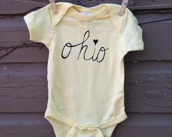 Ohio Love Onesie