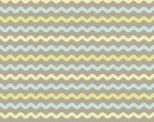 Kensington Ric Rac Gray by Emily Taylor Designs for Riley Blake, 1/2 yard