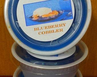 Blueberry Cobbler Melting Tart