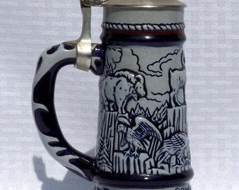 Avon Big Horn Collector's Stein