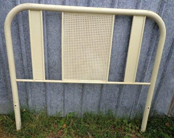 White Shabby Chic Twin size metal bed frame