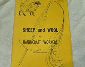Sheep and wool for handicraft workers book by Michael L. Ryder