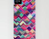 Geometric Phone Case - Prism Peak Pattern - Designer iPhone Samsung Case