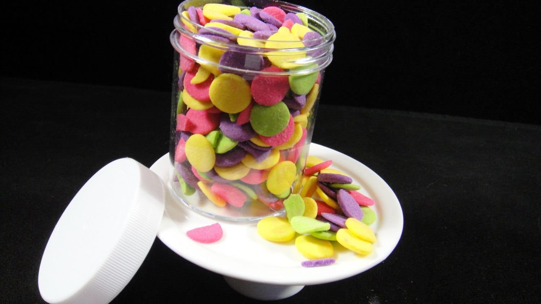 Cake Pop Decorating Sprinkles : Confetti Sprinkles Jumbo Cake Decorating Cupcake