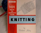 101 Ways to Improve Your Knitting Susan Bates 1963 Paperback Studio Book