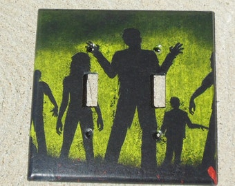 "Zombies ""Made to Order"" Light Switch, Outlet, GCFI, Dimmer, Switchplate Cover"