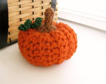 Crochet Pumpkin - Fall - Autumn - Thanksgiving - Halloween - Crocheted Pumpkin - Fall Decoration - Thanksgiving Decoration  Table Decoration