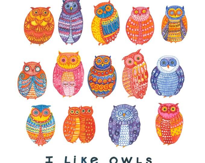 OWLS Print 12X12