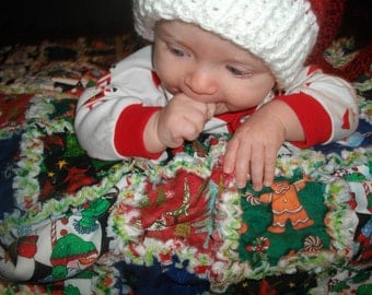 Christmas Rag Quilt