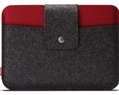 iPad mini 4 / iPad mini 3 case, 100% Merino wool felt - Made in Germany