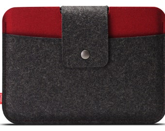 iPad mini 4 / iPad mini 3 case, 100% Merino wool felt - Made in Germany