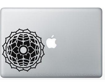 Mandala 1 Design Buddhist Enlightenment Reiki Vinyl Decal Stickers (Multiple Colors Available) Fashion Beauty Car MacBook