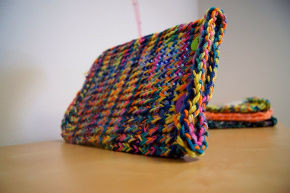 Knitted iCozy for IPad mini and Kindle