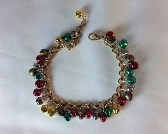 Jingle Bell Bracelet. Charm Bracelet