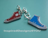 Zipper Pulls Converse Running Shoe. Accessories. Backpack Accessory. Clip On Accessory. Teens, Children