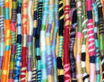 Yarn Falls, Hippie Hair Wraps, Braid & Dreadlock Extensions, Accessories, Atebas, Fun Colors for Your Hair