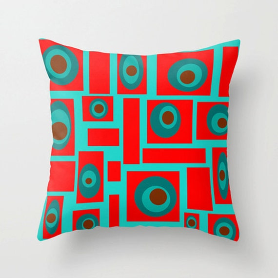 Mid Century Modern Throw PillowFun Pillow Mod Pillow Cool