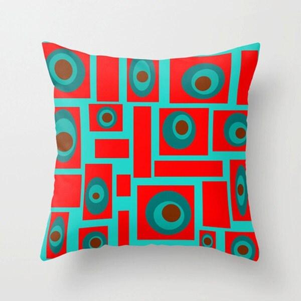 Mid Century Style Throw Pillows : Mid Century Modern Throw PillowFun Pillow Mod Pillow Cool