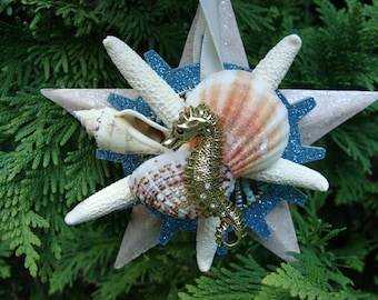 By The Sea - Assemblage, Home Decor, Ornament, Embellishment