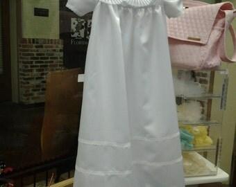 christening dress ,white dress long dress