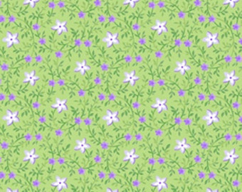 Sausalito Cottage - Star Flower in Leaf by Holly Holderman for Lakehouse Drygoods