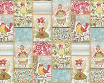 Merry Stitches - Little World of Wonder Panel by Cori Dantini for Blend Fabrics
