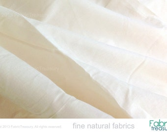 "Extra wide fabric 120"" wide. Organic cotton fabric. Dyeable. Light Cotton Fabric. Cotton Curtain Fabric. Summer Curtains. Cotton Voile."