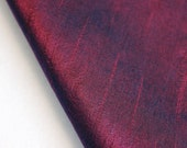 Dark Maroon Art Silk Fabric By The Yard Silk Curtain Fabric Apparel Fabric Silk Dupioni Fabric Indian Silk Fabric By The Yard