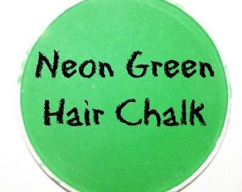 Neon Green Hair Chalk