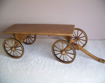 Sold: Convo to reserve. Decorator's Farm Wagon