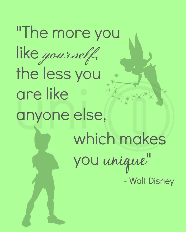 Disney Quotes: Walt Disney Quote Print Digital Art Wall Art 8x10 Print
