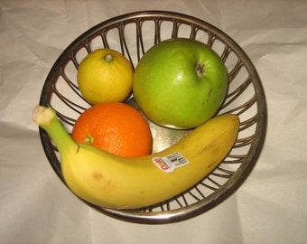 Silver Plated Fruit Bowl EL Co. Germany