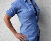 Vintage Levi Strauss Women's Pinstripe Western Shirt