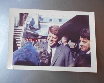 Original JFK Photograph