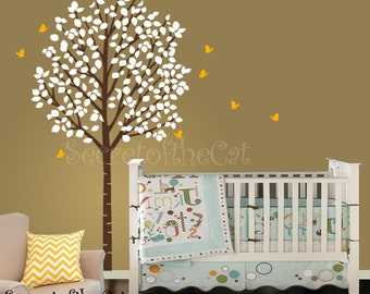 Wall Decals Nursery - Nursery Wall Decal - Tree Decal - Wall Decal - Forest Decal - Birch Tree - Nursery